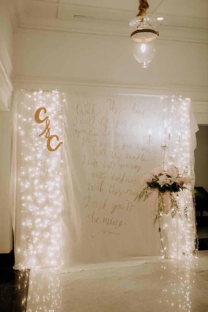Carla and Clief Wedding by de_Puzzle Event Management - 007