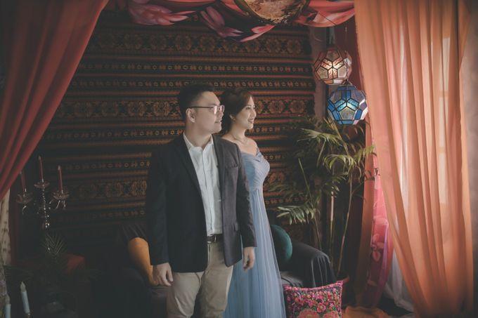 Prewedding of Gilbert & Nathasya by Elina Wang Bridal - 002