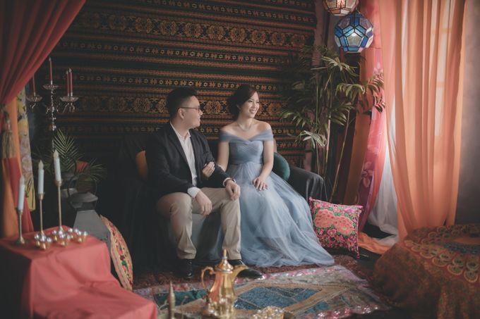 Prewedding of Gilbert & Nathasya by Elina Wang Bridal - 003