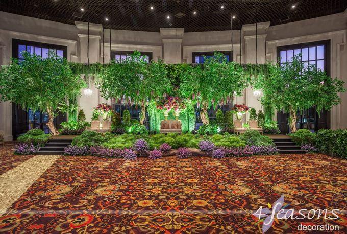 The Wedding of Rika & Kiky by 4Seasons Decoration - 002