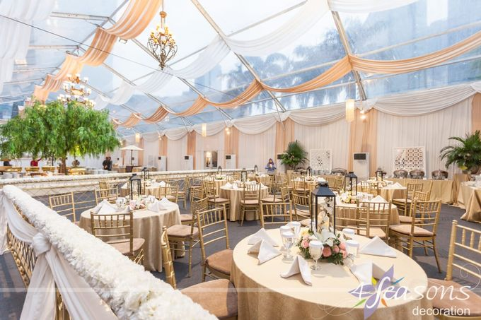 The Wedding of Adis & Amira by 4Seasons Decoration - 011