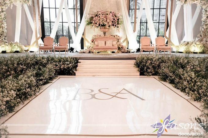 The Wedding of Bella & Ando by 4Seasons Decoration - 011
