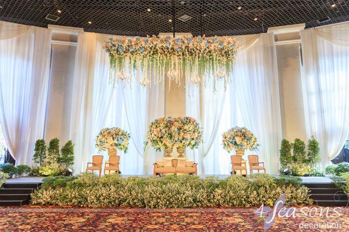 The Wedding of Sharrah & Farian by 4Seasons Decoration - 004