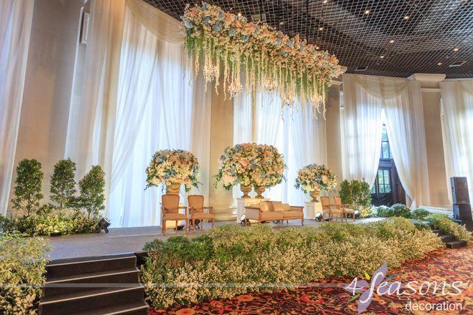 The Wedding of Sharrah & Farian by 4Seasons Decoration - 005