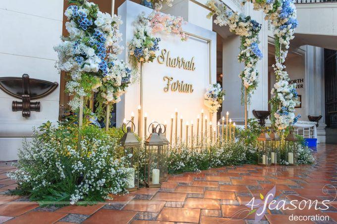 The Wedding of Sharrah & Farian by 4Seasons Decoration - 001