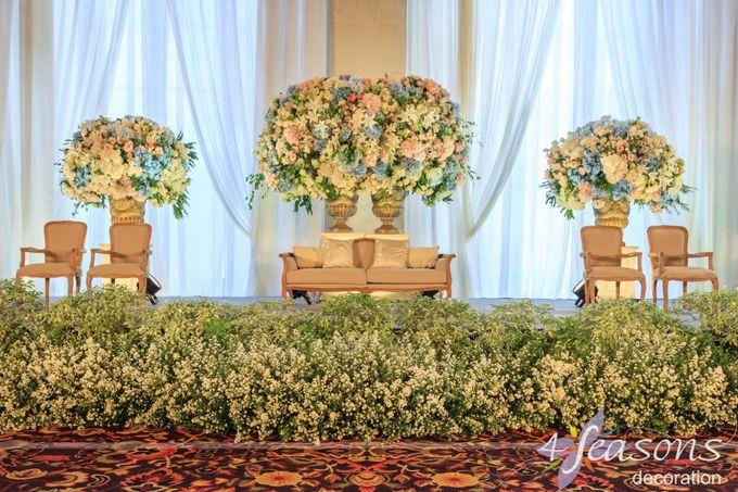 The Wedding of Sharrah & Farian by 4Seasons Decoration - 006