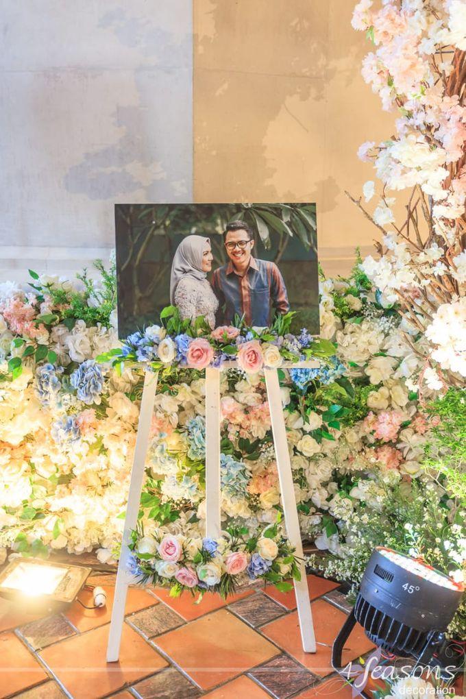 The Wedding of Sharrah & Farian by 4Seasons Decoration - 002