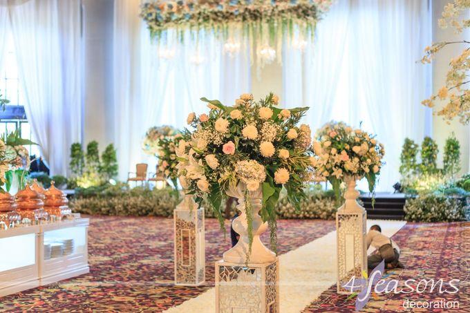The Wedding of Sharrah & Farian by 4Seasons Decoration - 003