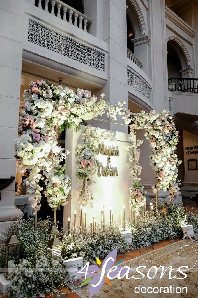 The Wedding Of Monica & Fabian by 4Seasons Decoration - 002