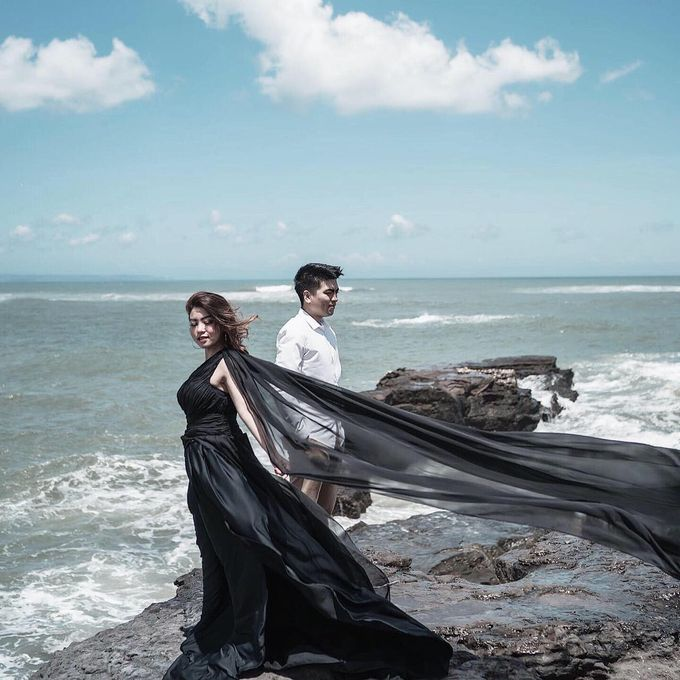 Bali Prewedding - Dennis & Anggi by Elina Wang Bridal - 001