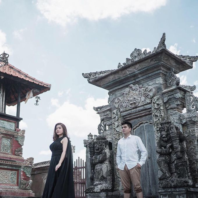 Bali Prewedding - Dennis & Anggi by Elina Wang Bridal - 003