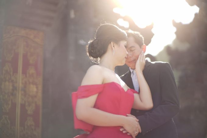 Bali Prewedding - Suyanto & Desi by Elina Wang Bridal - 002