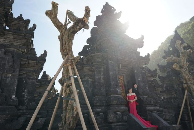 Bali Prewedding - Suyanto & Desi by Elina Wang Bridal - 004