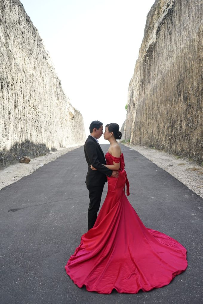 Bali Prewedding - Suyanto & Desi by Elina Wang Bridal - 001