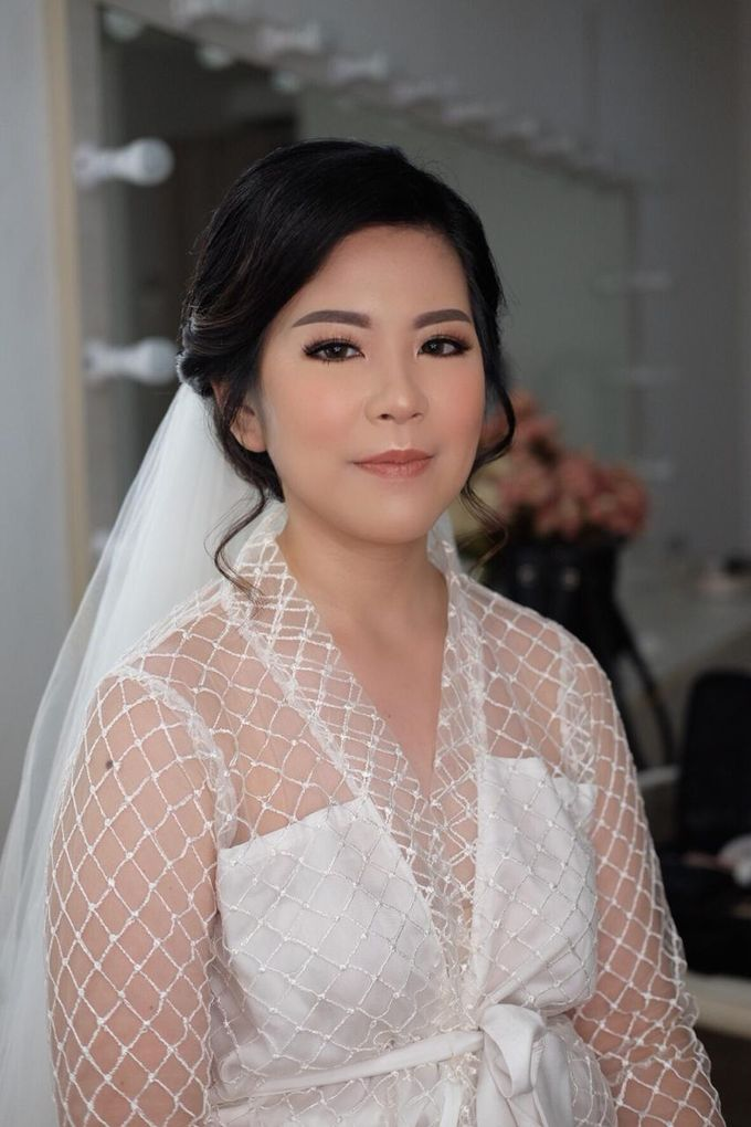 The Wedding by Brigita Indriani by VA Make Up Artist - 015
