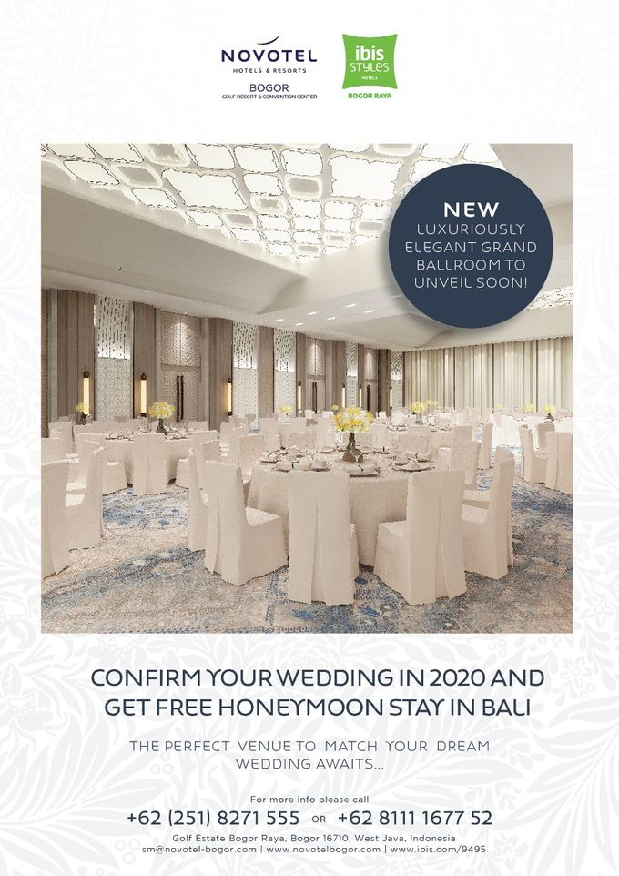 NEW Novotel Grand Ballroom (May 2020 opened) by Novotel Bogor Golf Resort and Convention Centre - 005