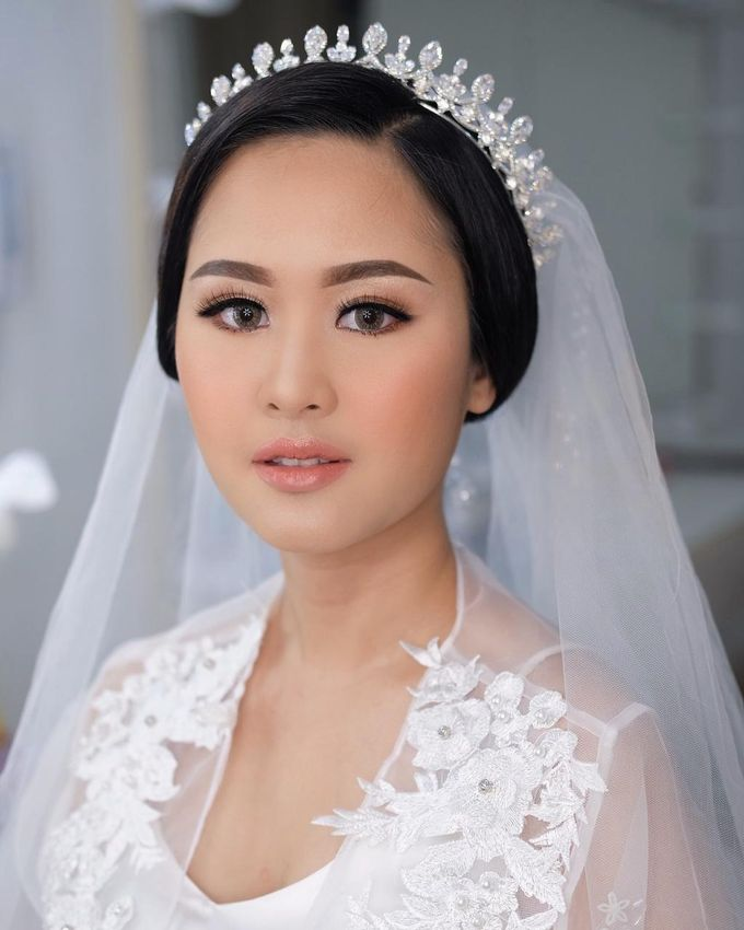 The Wedding by Brigita Indriani by VA Make Up Artist - 016