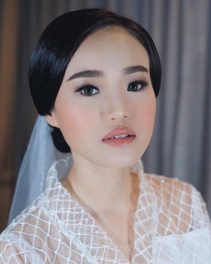 The Wedding by Brigita Indriani by VA Make Up Artist - 017