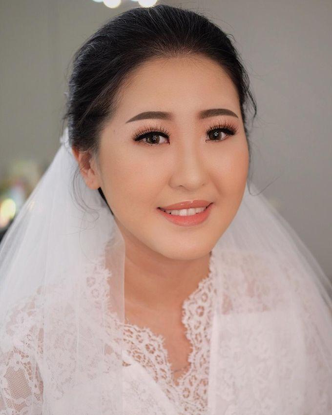 The Wedding by Brigita Indriani by VA Make Up Artist - 018