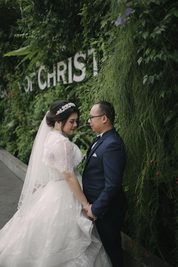Wedding of Willy & Ivana by Elina Wang Bridal - 003