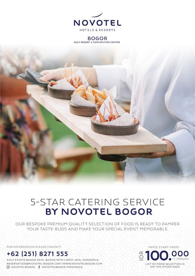 Novotel Outside Catering by Novotel Bogor Golf Resort and Convention Centre - 001