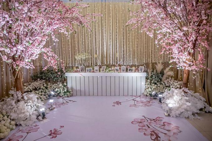 Hendrik & Andini Wedding Decoration by Valentine Wedding Decoration - 003
