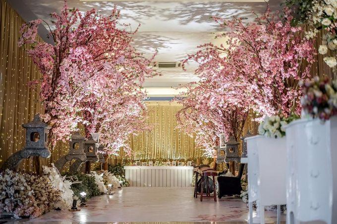Hendrik & Andini Wedding Decoration by Valentine Wedding Decoration - 043
