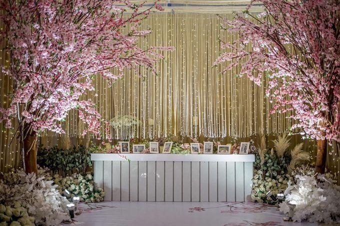 Hendrik & Andini Wedding Decoration by Valentine Wedding Decoration - 049
