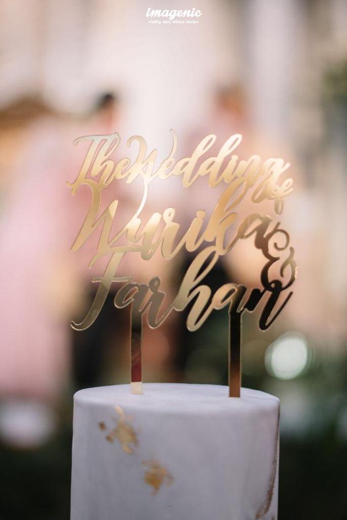 The Wedding of Wurika & Farhan by KAIA Cakes & Co. - 007