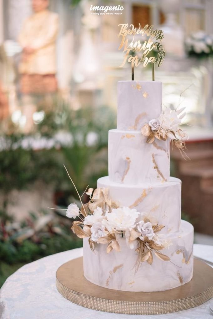 The Wedding of Wurika & Farhan by KAIA Cakes & Co. - 004