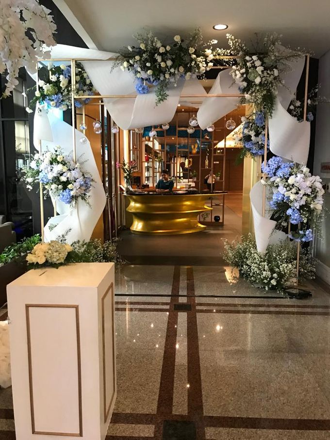Premium Intimate Wedding at Century Park Hotel by Bright Wedding Jakarta - 009