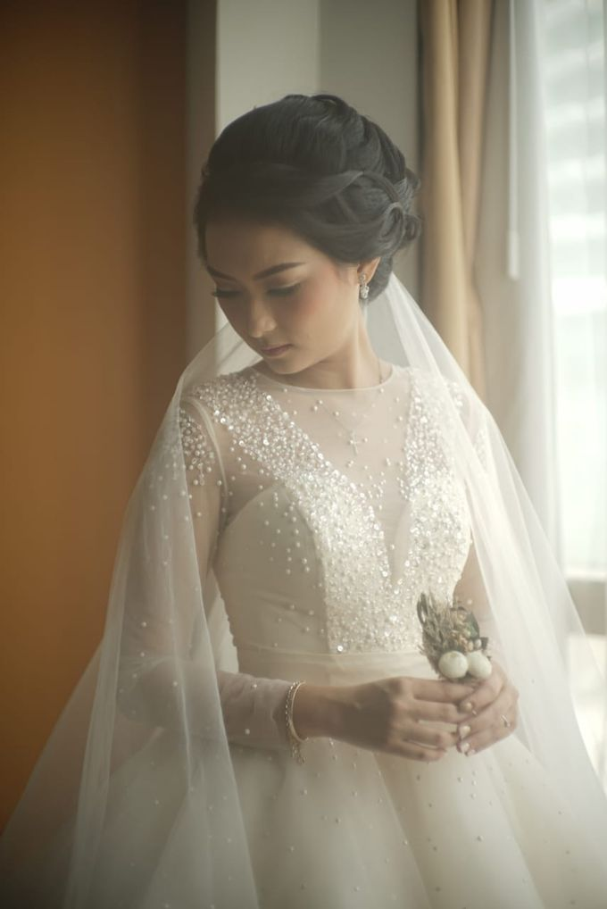 Gamma & Felicia Wedding Preparation by Elina Wang Bridal - 001