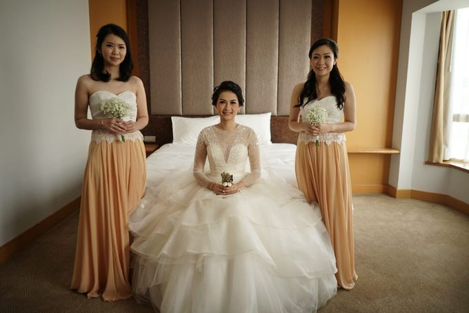Gamma & Felicia Wedding Preparation by Elina Wang Bridal - 008