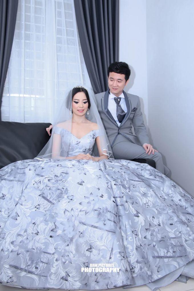 Ferry & Caroline Holy Matrimony by Elina Wang Bridal - 004