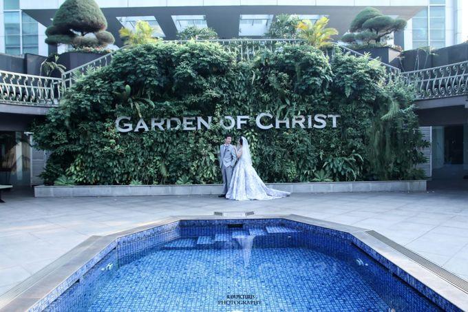 Ferry & Caroline Holy Matrimony by Elina Wang Bridal - 003