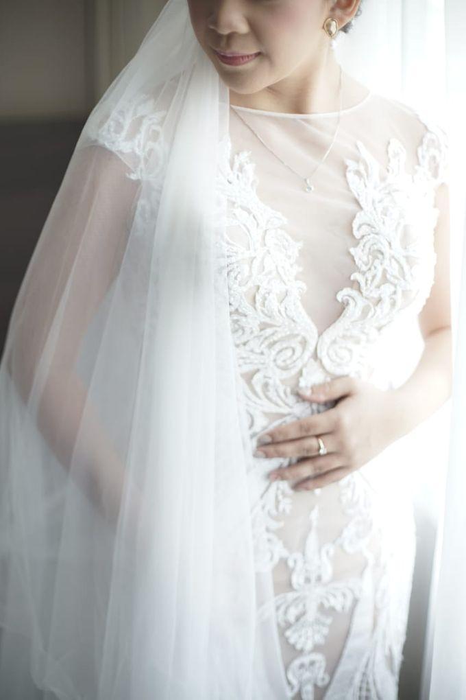 Evan & Cynthia Wedding Preparation by Elina Wang Bridal - 008