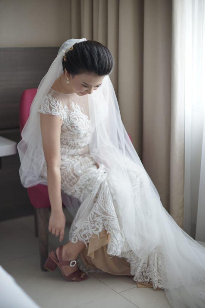 Evan & Cynthia Wedding Preparation by Elina Wang Bridal - 003