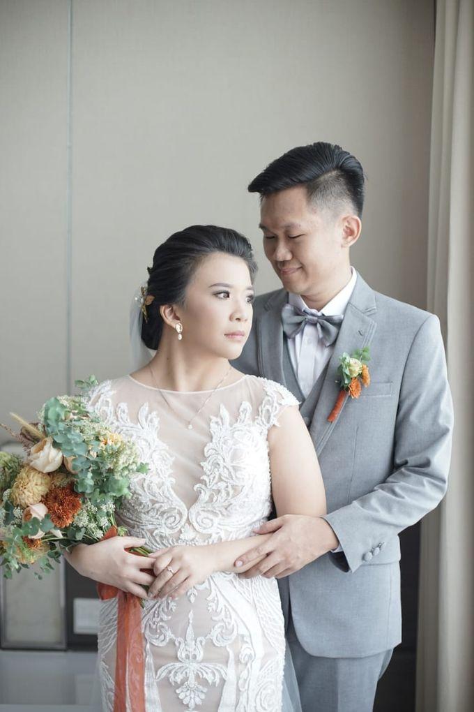 Evan & Cynthia Wedding Preparation by Elina Wang Bridal - 004