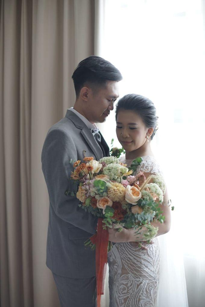 Evan & Cynthia Wedding Preparation by Elina Wang Bridal - 005