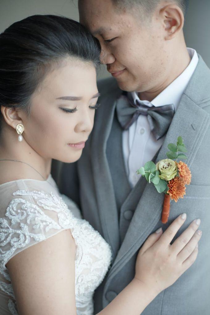 Evan & Cynthia Wedding Preparation by Elina Wang Bridal - 006