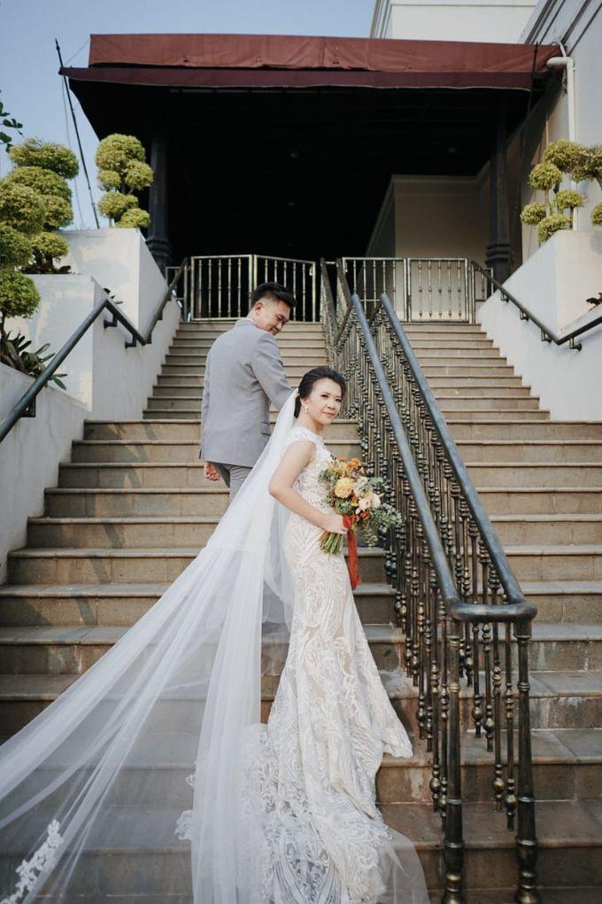 Evan & Cynthia Wedding Preparation by Elina Wang Bridal - 001