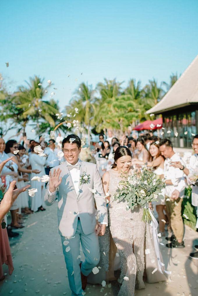 Modern-Rustic Elegant Wedding at The Royal Santrian Bali by Silverdust Decoration - 005