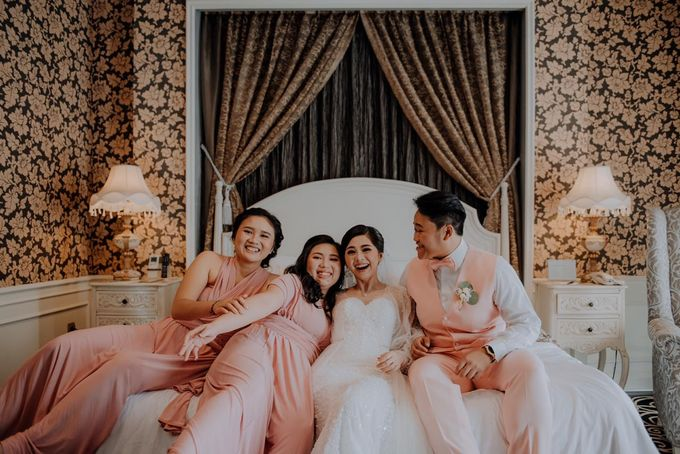 The Wedding of Renata & Erwin by GH Universal Hotel - 019