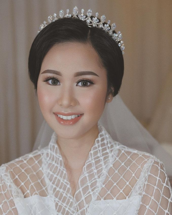 The Wedding by Brigita Indriani by VA Make Up Artist - 005