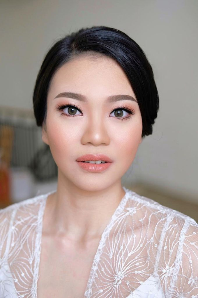 The Wedding by Brigita Indriani by VA Make Up Artist - 019