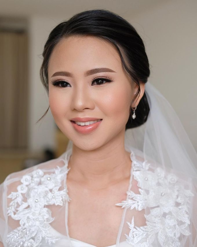 The Wedding by Brigita Indriani by VA Make Up Artist - 021