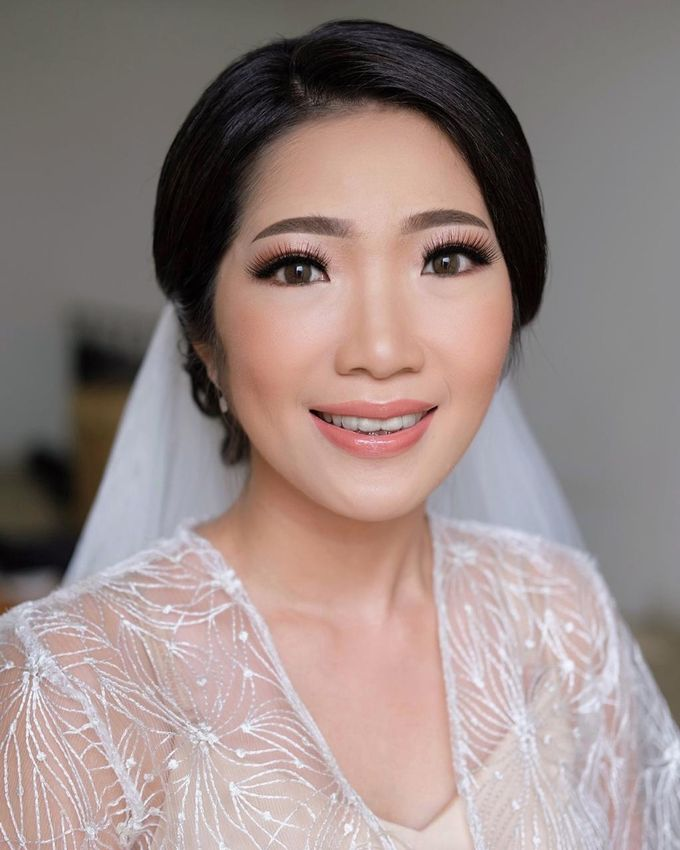 The Wedding by Brigita Indriani by VA Make Up Artist - 022