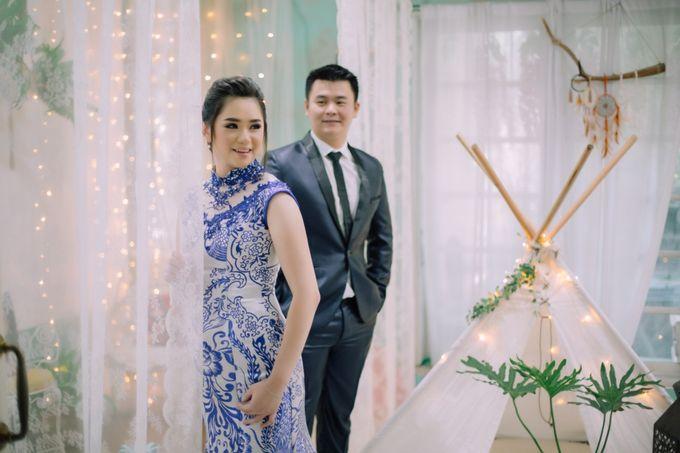 Vebri & Venni Prewedding by Elina Wang Bridal - 003