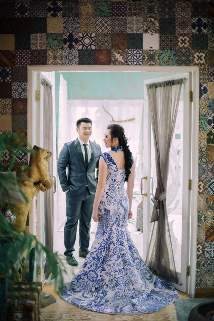 Vebri & Venni Prewedding by Elina Wang Bridal - 002