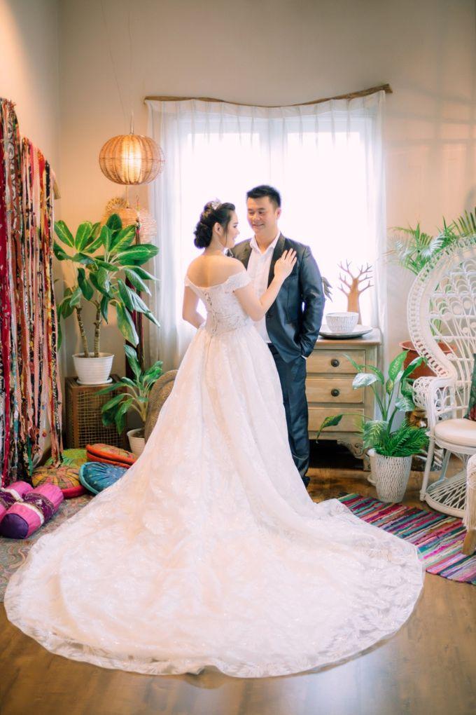 Vebri & Venni Prewedding by Elina Wang Bridal - 005